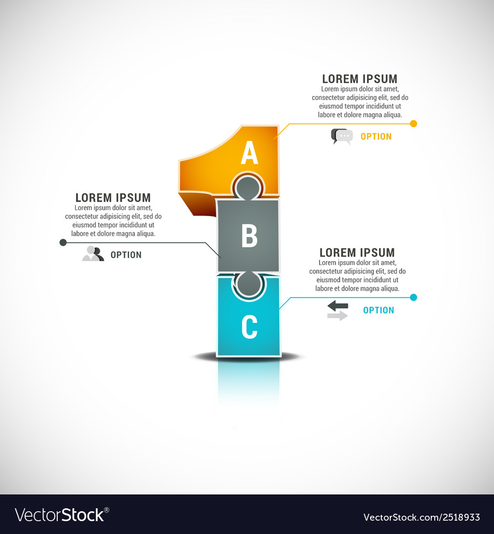 Infographic vector