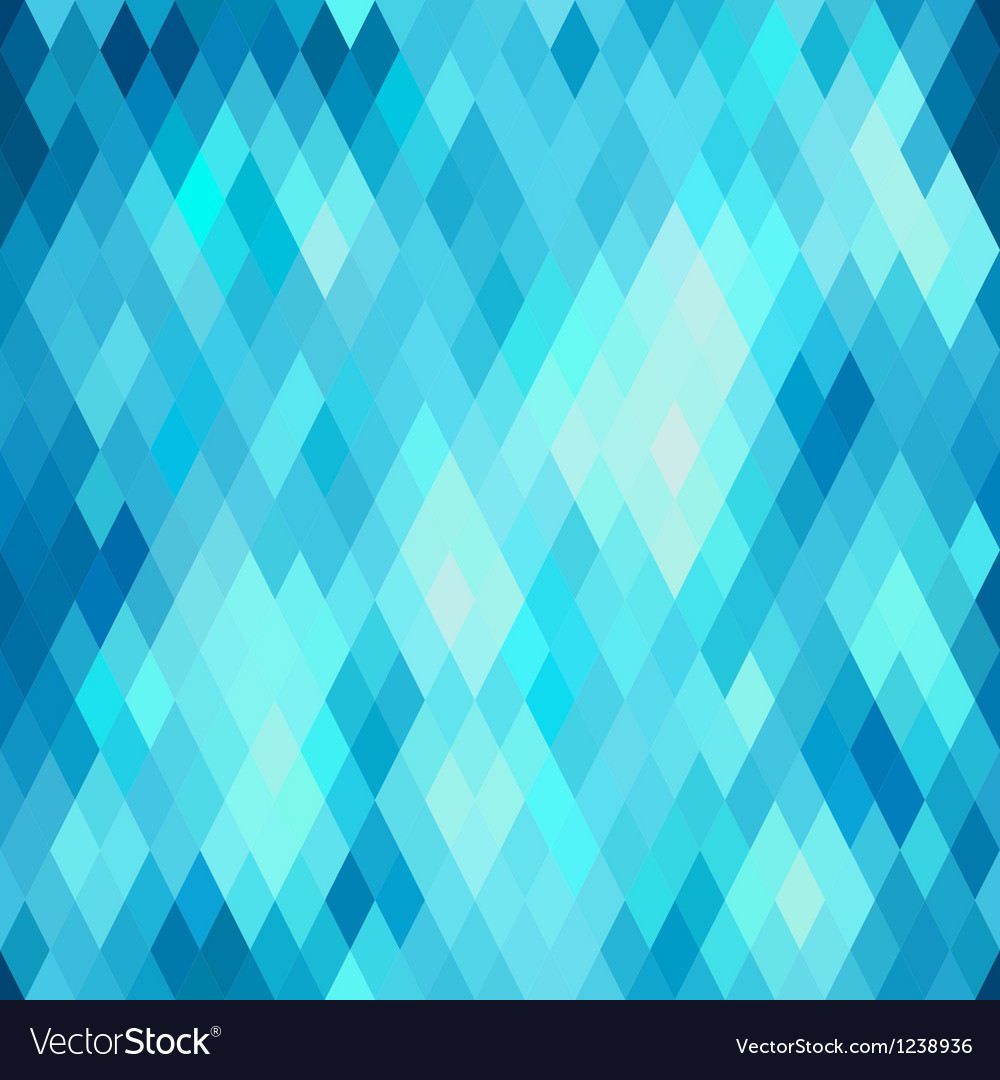 Seamless abstract geometric pattern with rhombus vector
