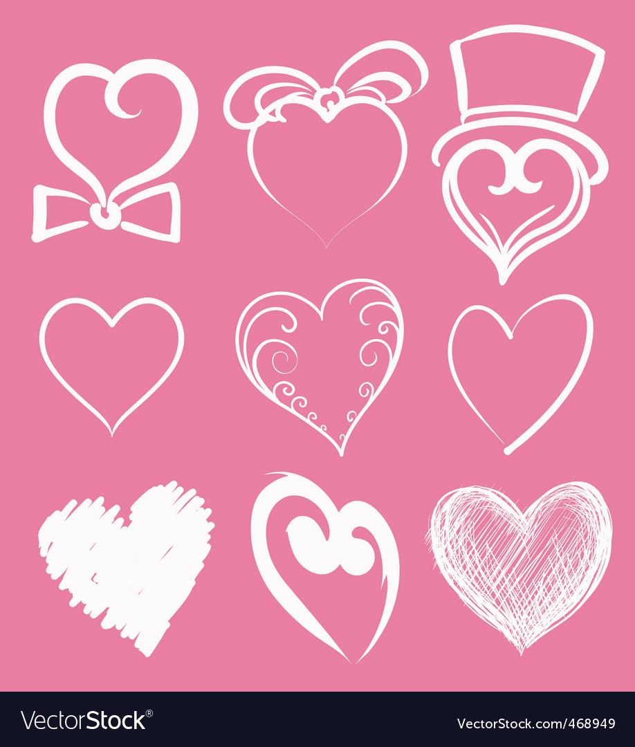 Heart suite vector