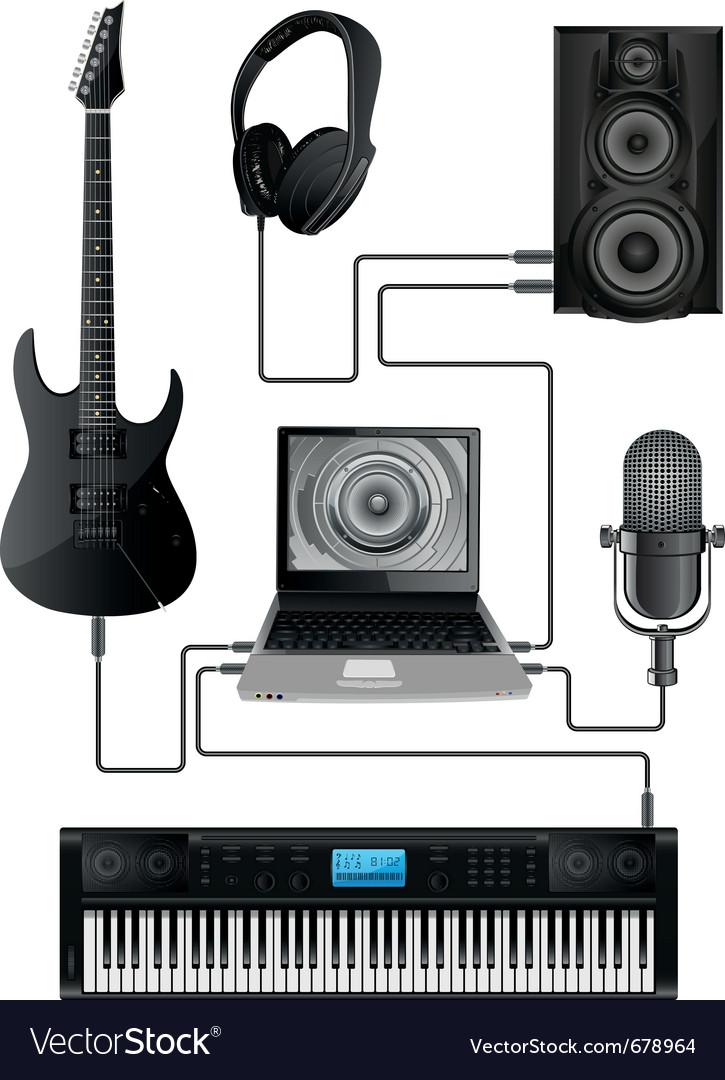 Home media centre vector