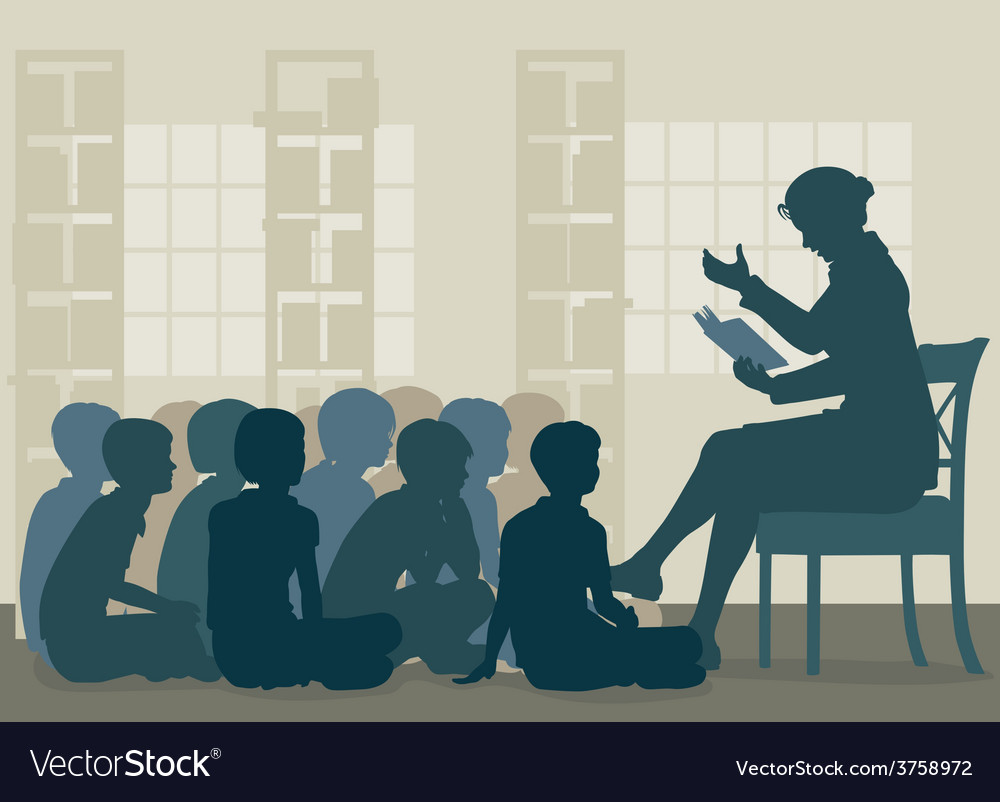 Story reading vector
