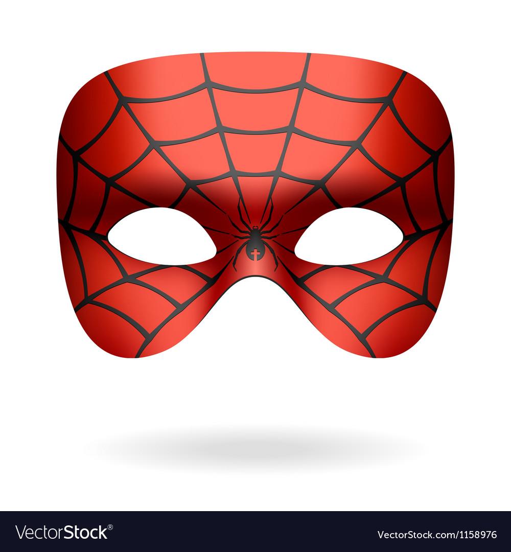 Spider mask vector