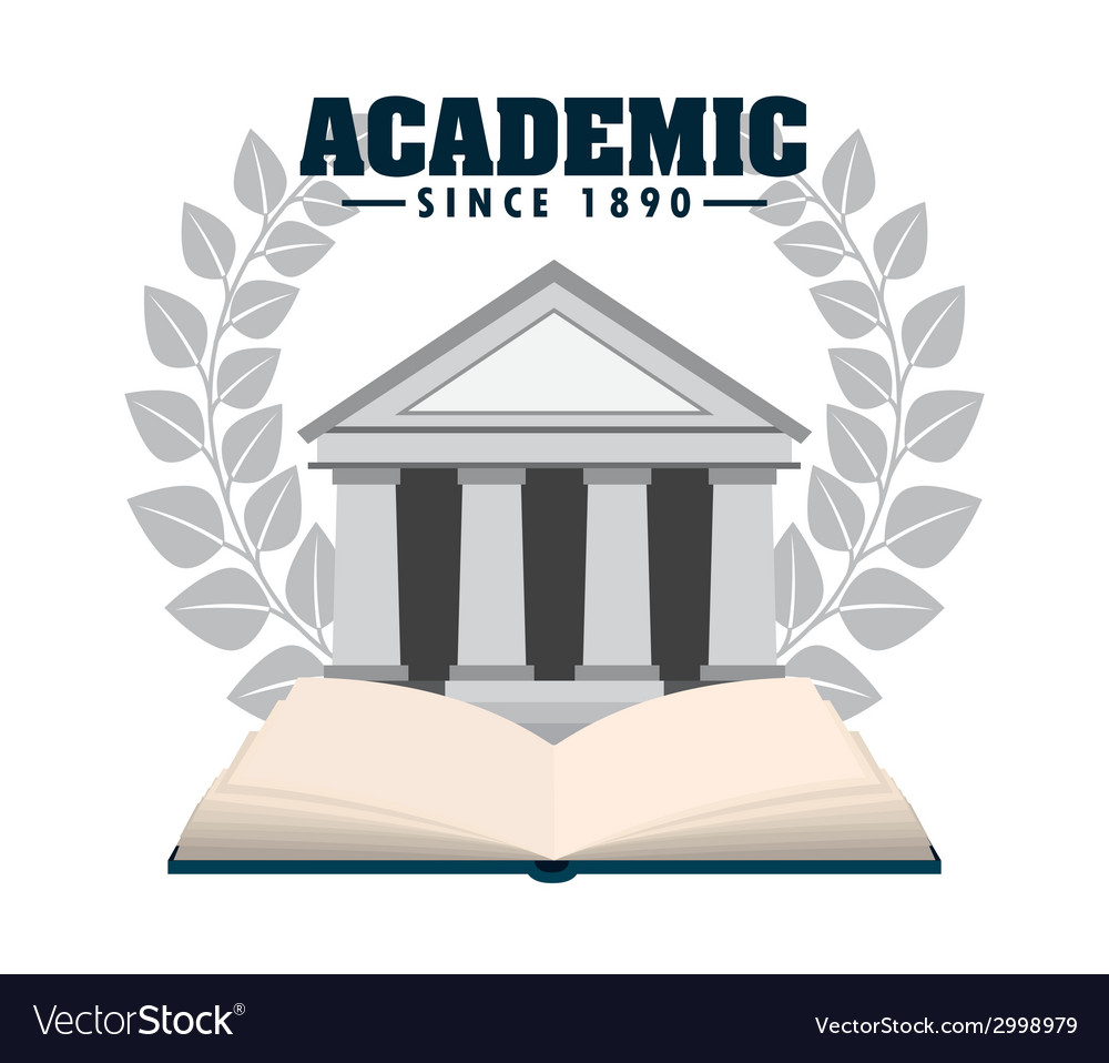 Academic design vector