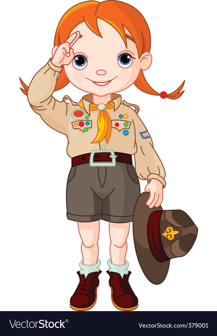 Boy scout vector