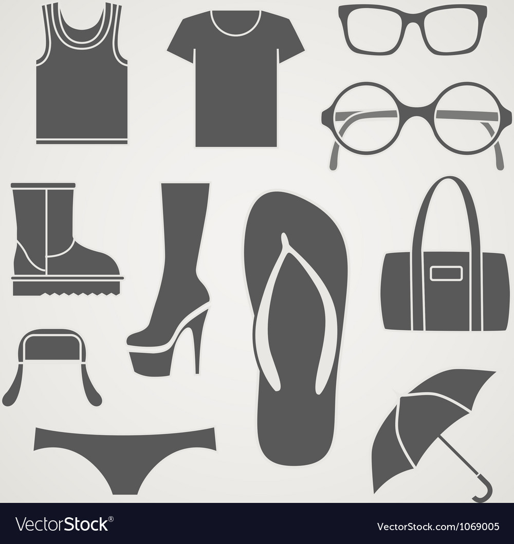 Fasion details vector