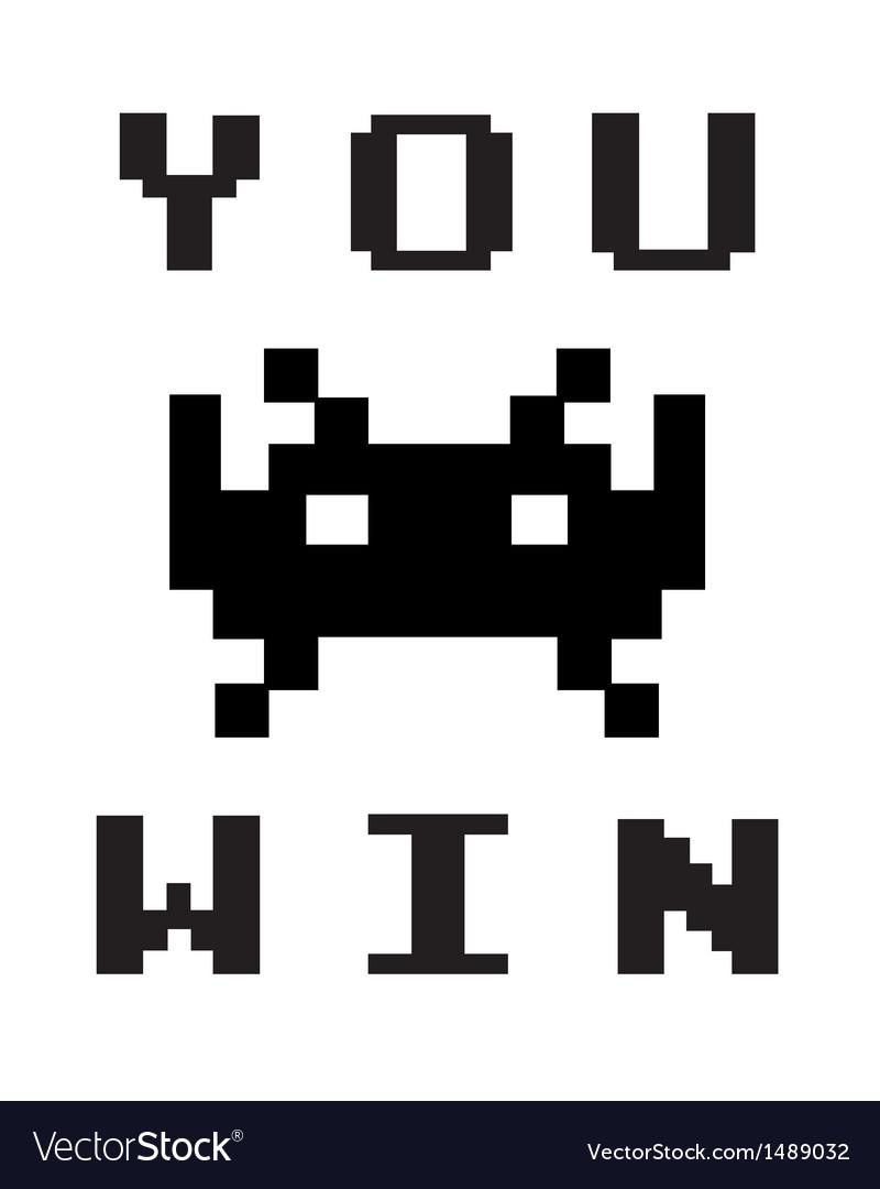 You win vector