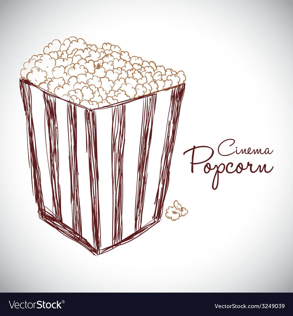 Cinema design vector