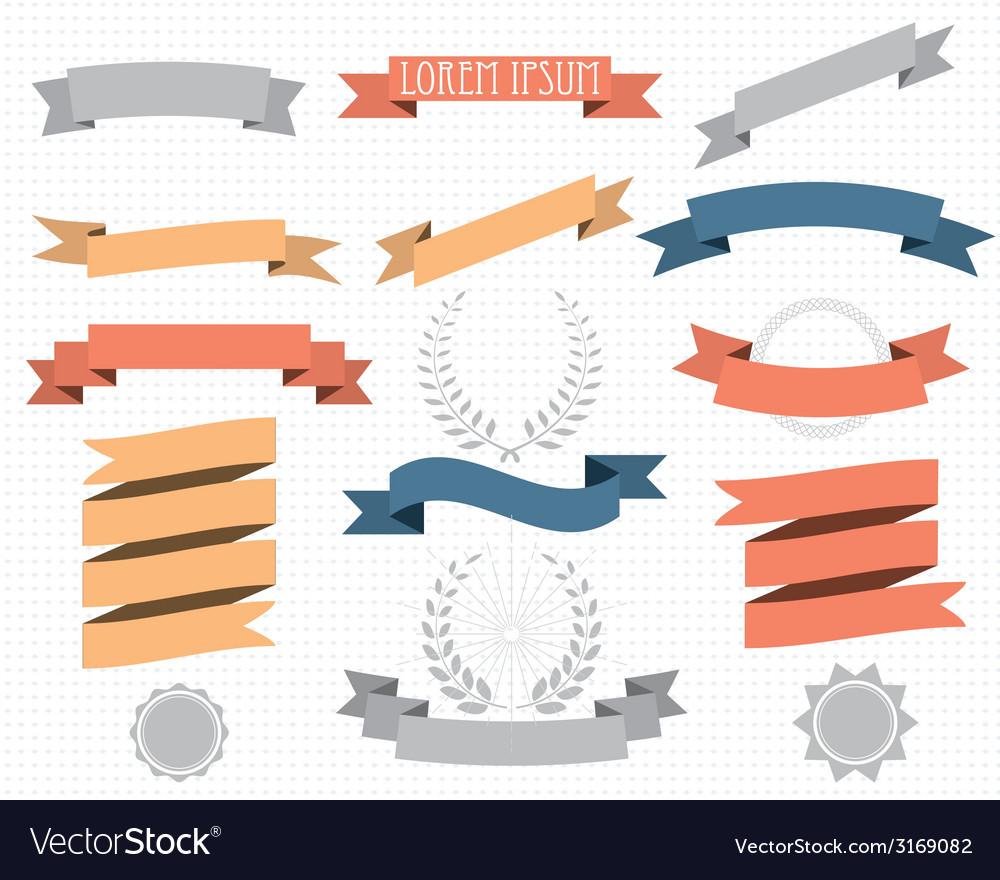 Retro design vector
