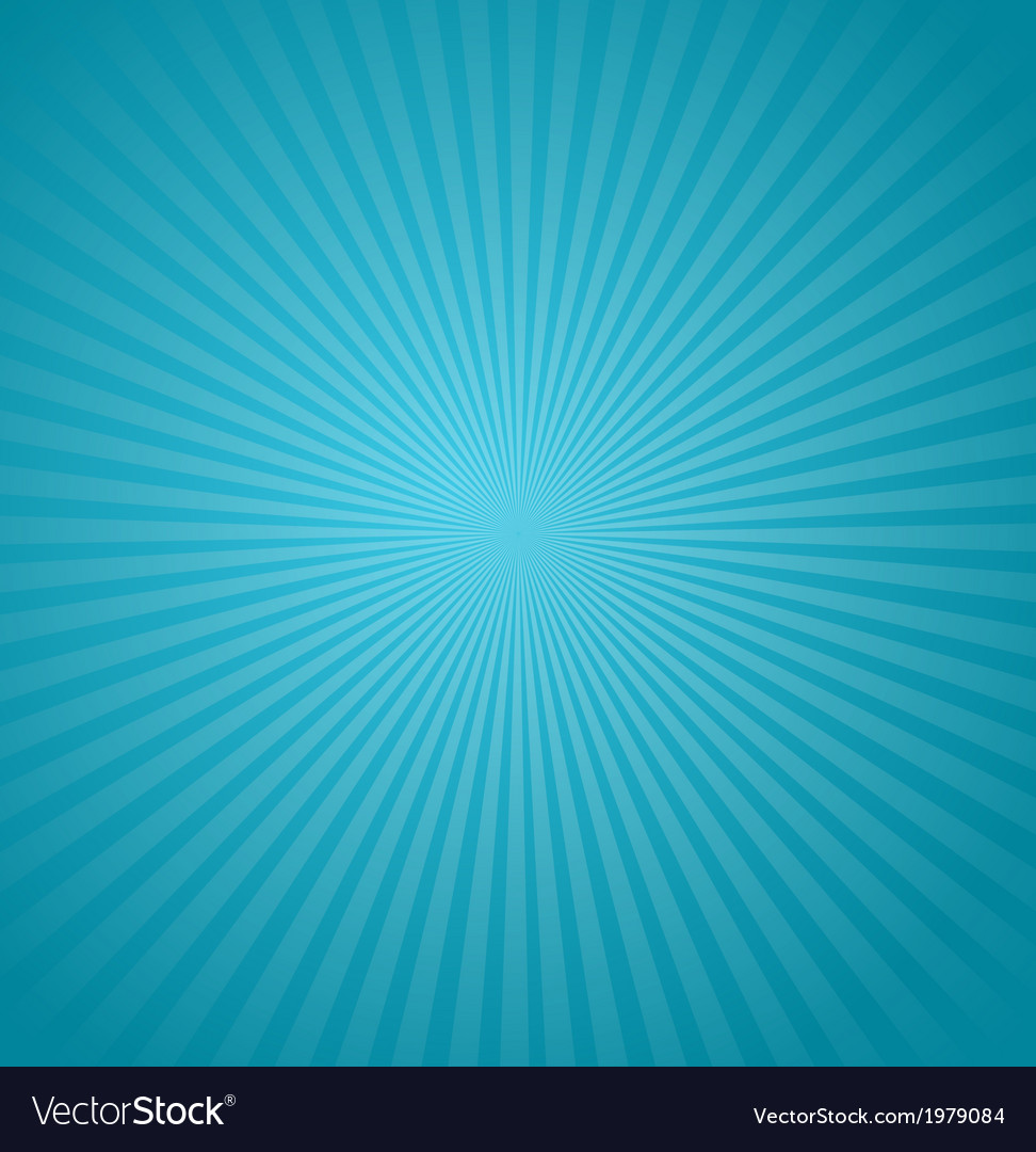 Blue rays background burst vector