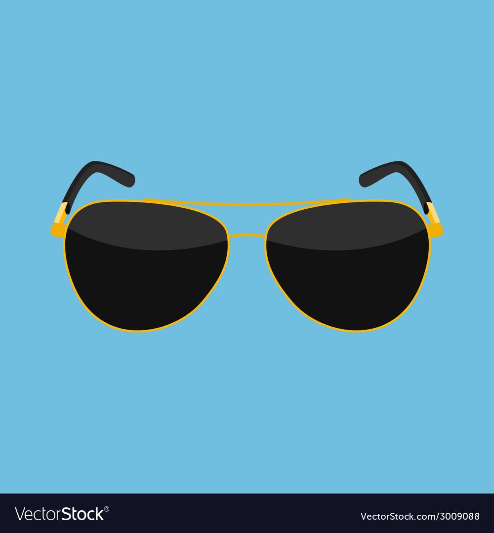 Sun glasses vector