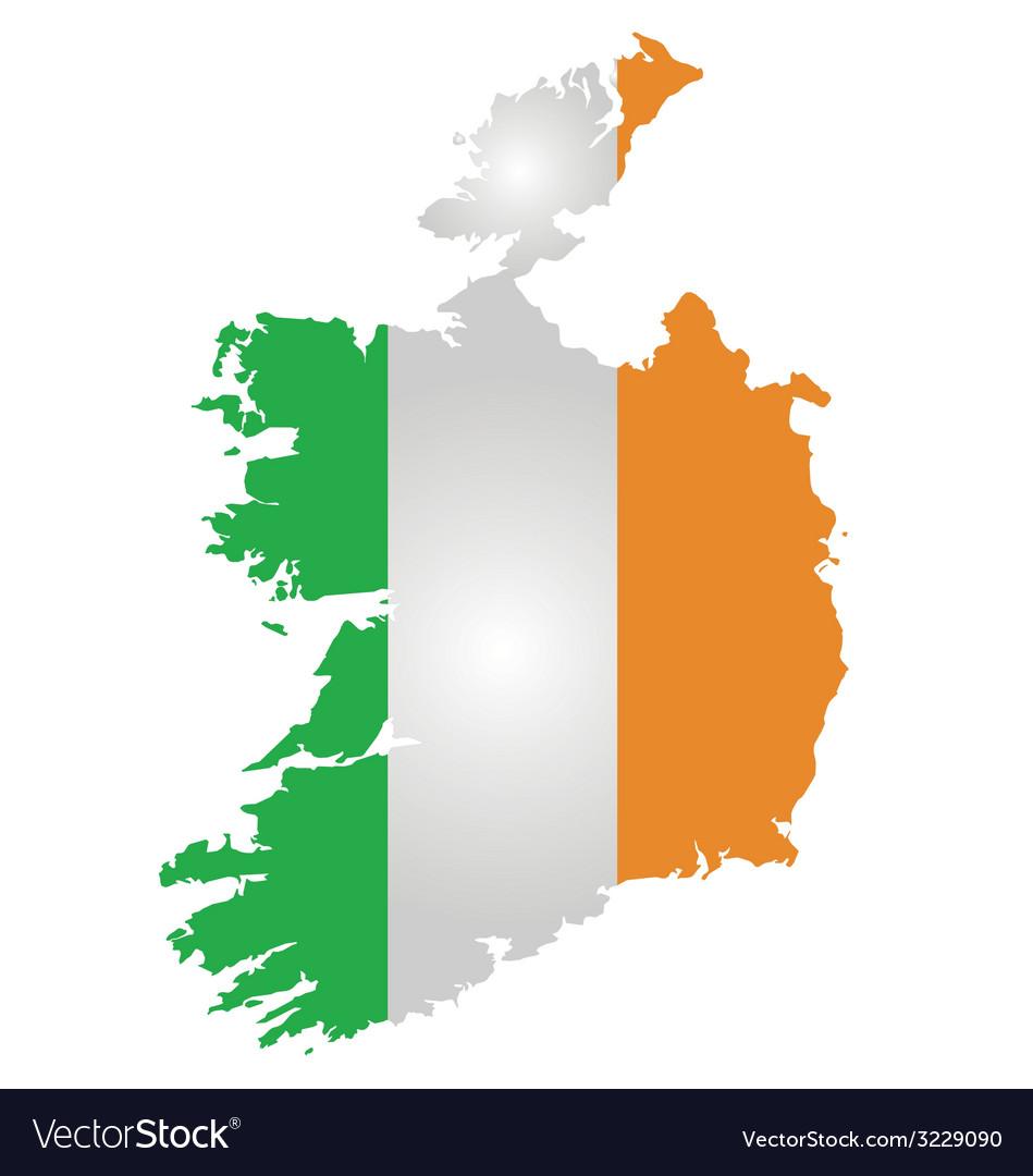 Ireland flag vector
