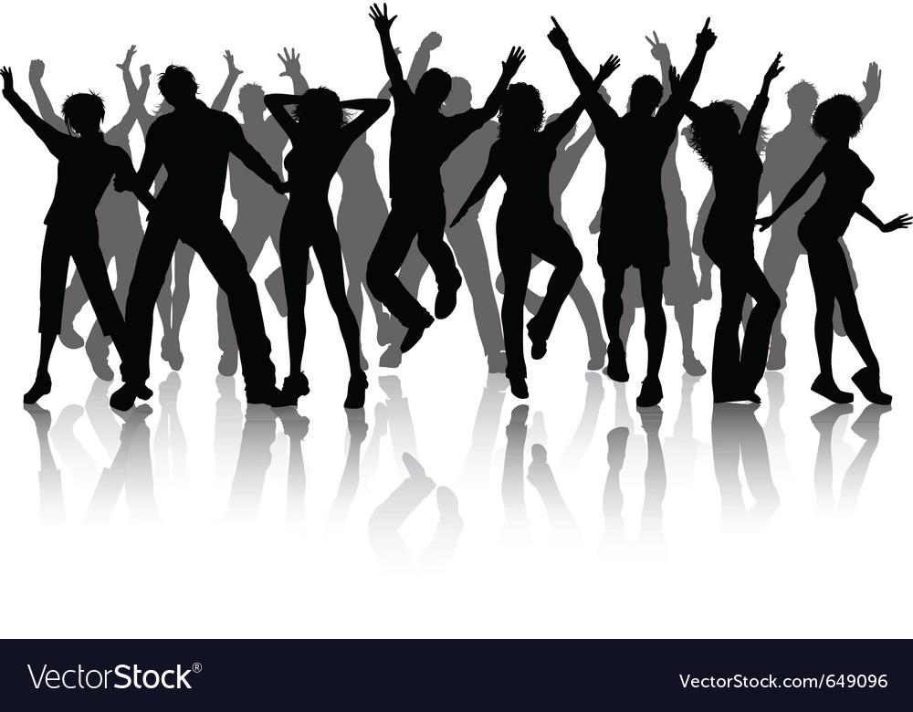 Celebration people vector