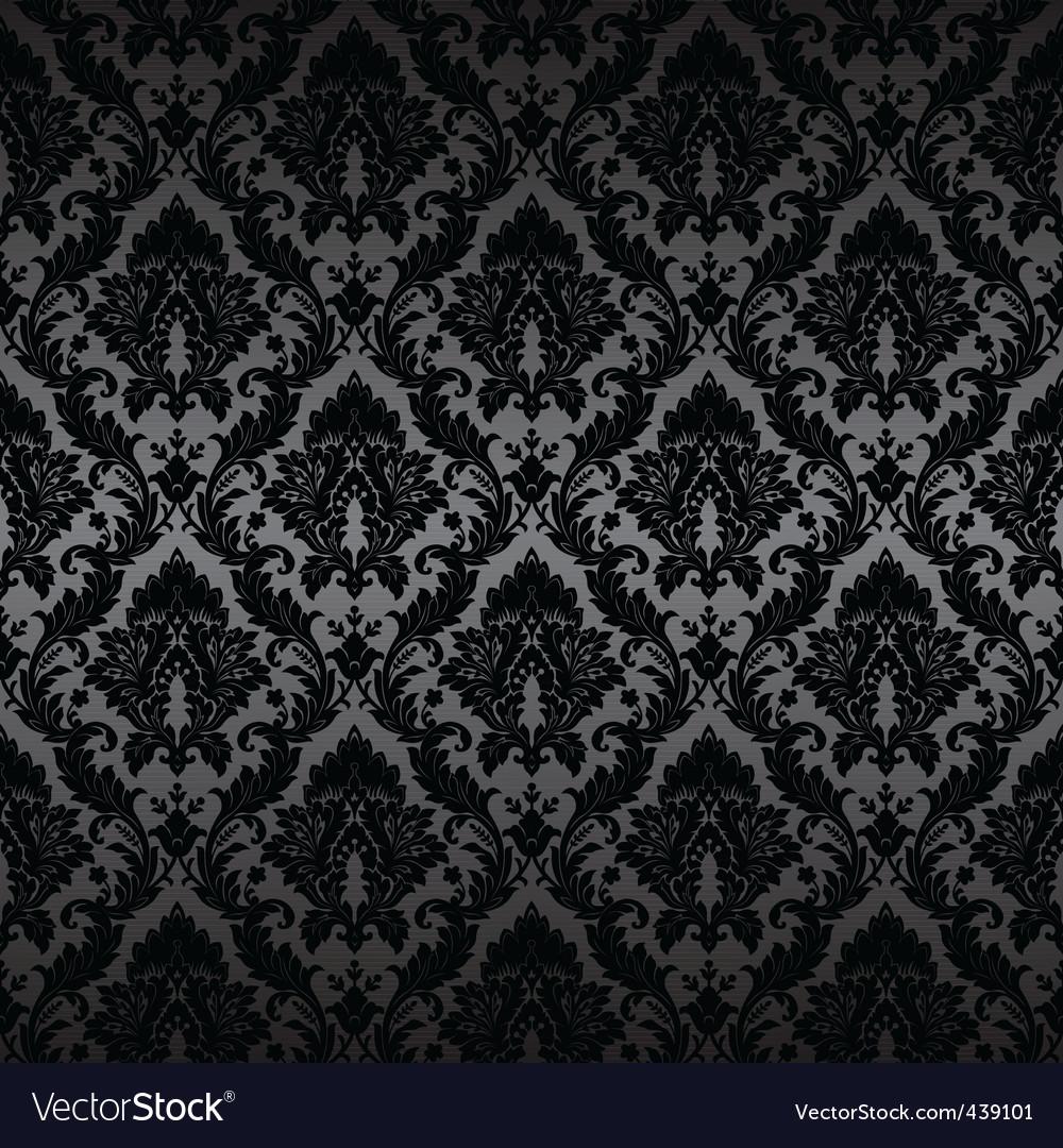 Damask wallpaper 1 017 vector