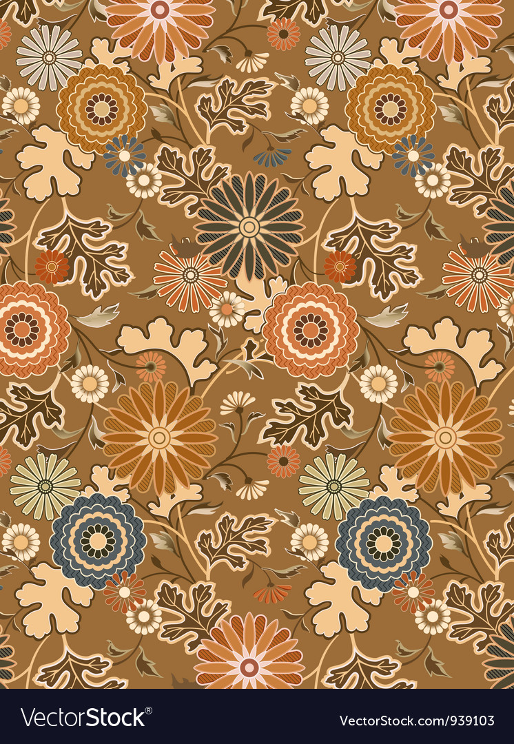 Japonaise in brown vector