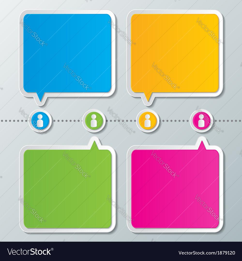 Infographic design background vector