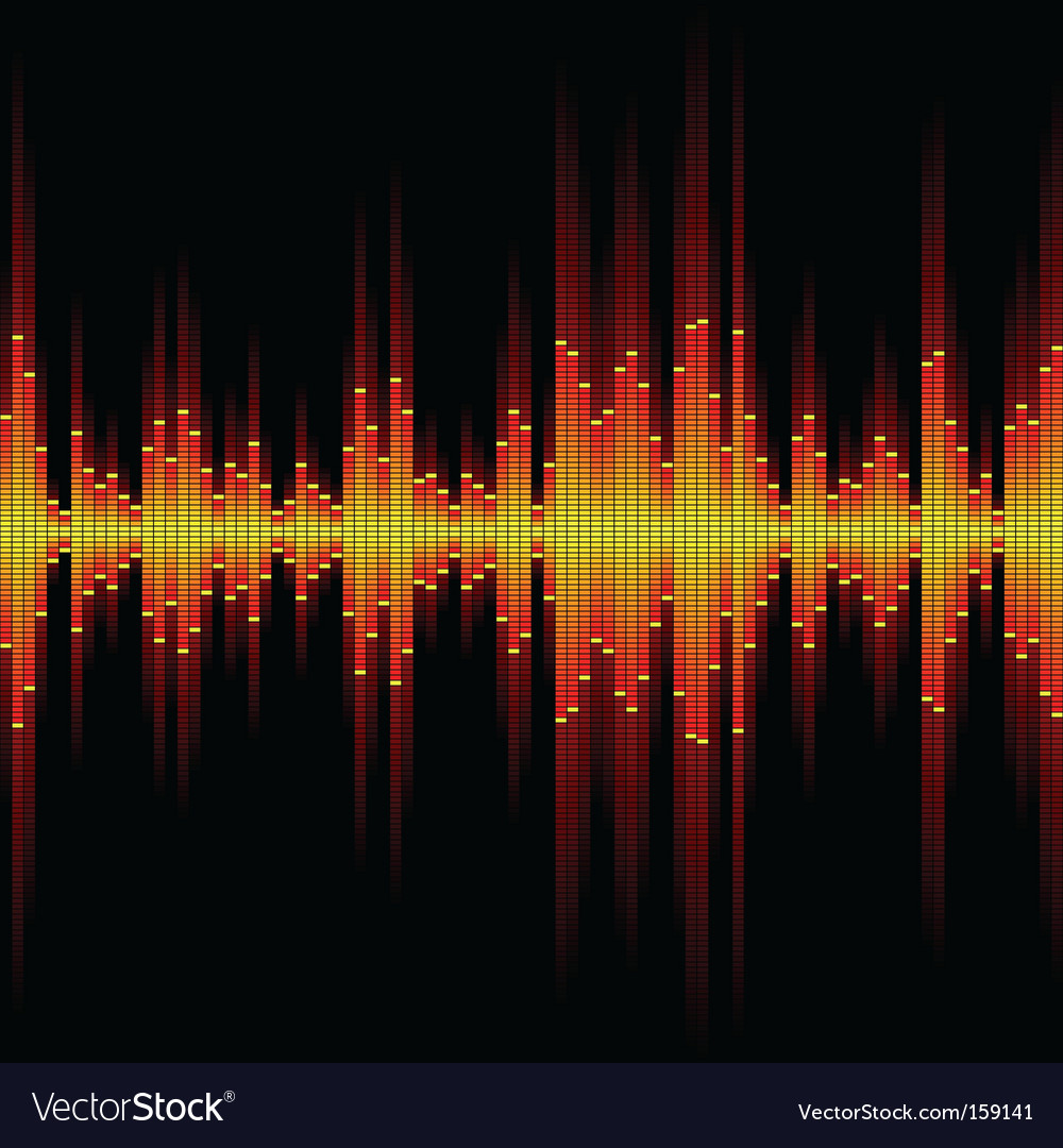 Sound waveform vector