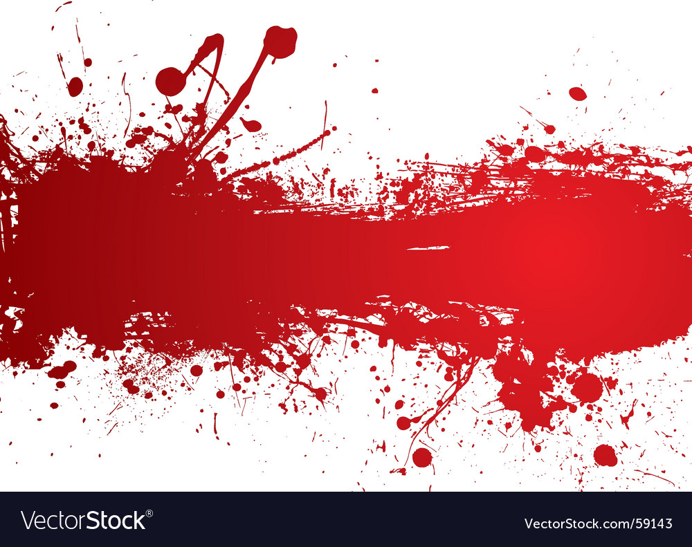 Blood strip vector