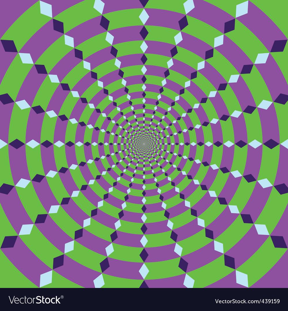 Rotating circle vector
