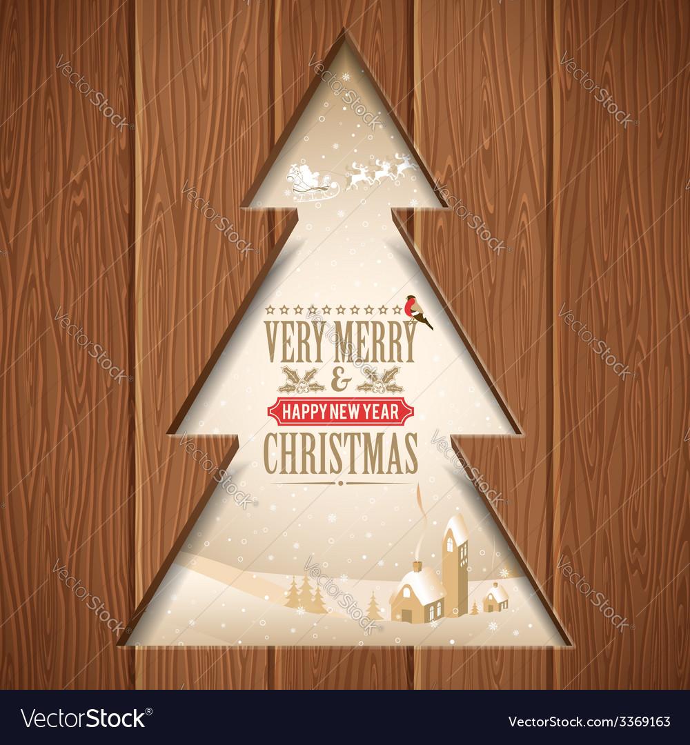 Christmas concept vector