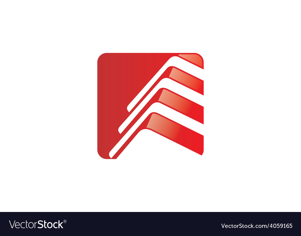 Construction roof home icon abstract logo vector