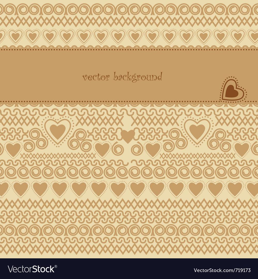 Romantic vector