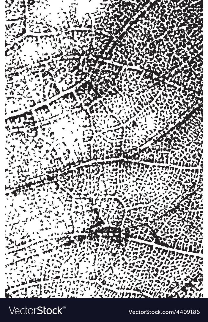 Leaf texture overlay vertical vector