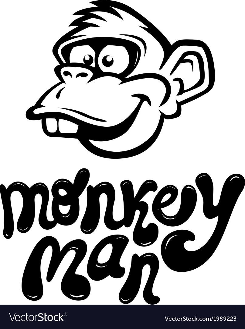 Monkeyman vector