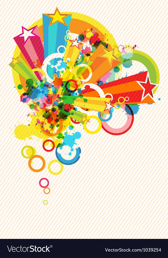 Festival decoration background vector