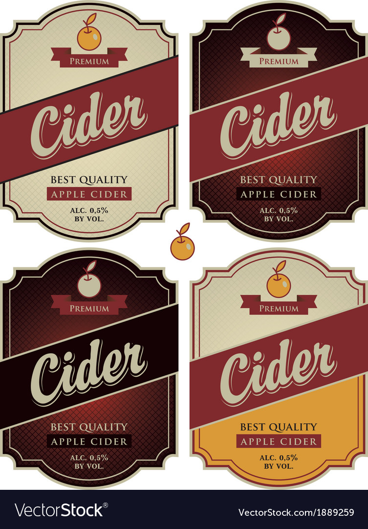 Apple cider vector