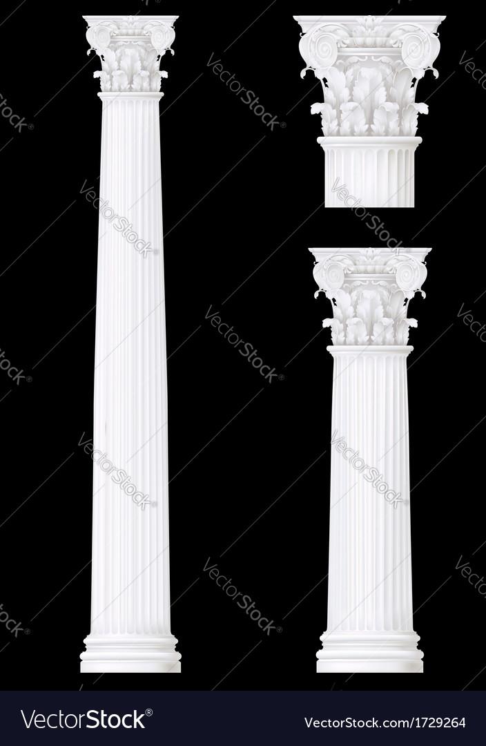 Corithian column vector