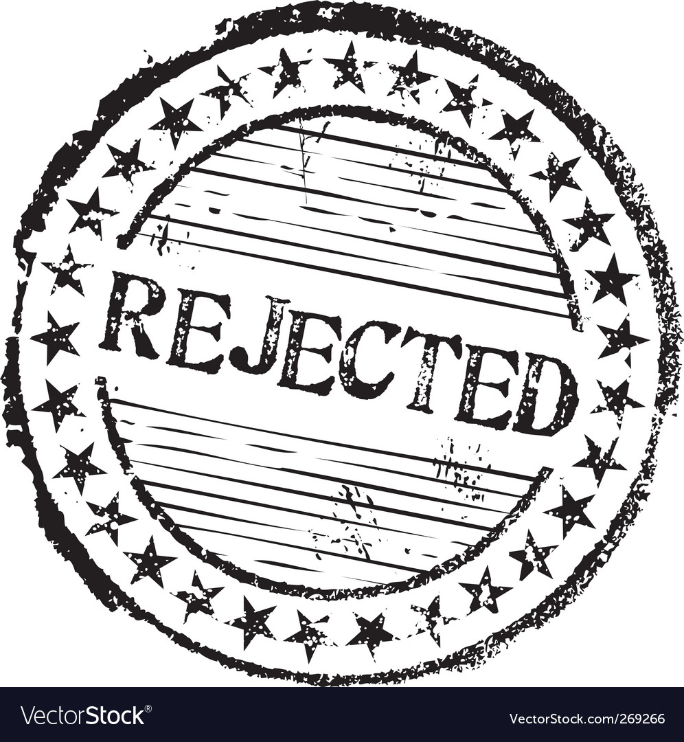 Rejected stamp vector