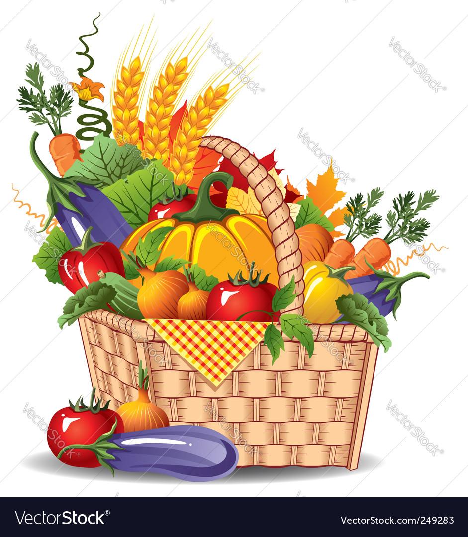 Rich harvest vector