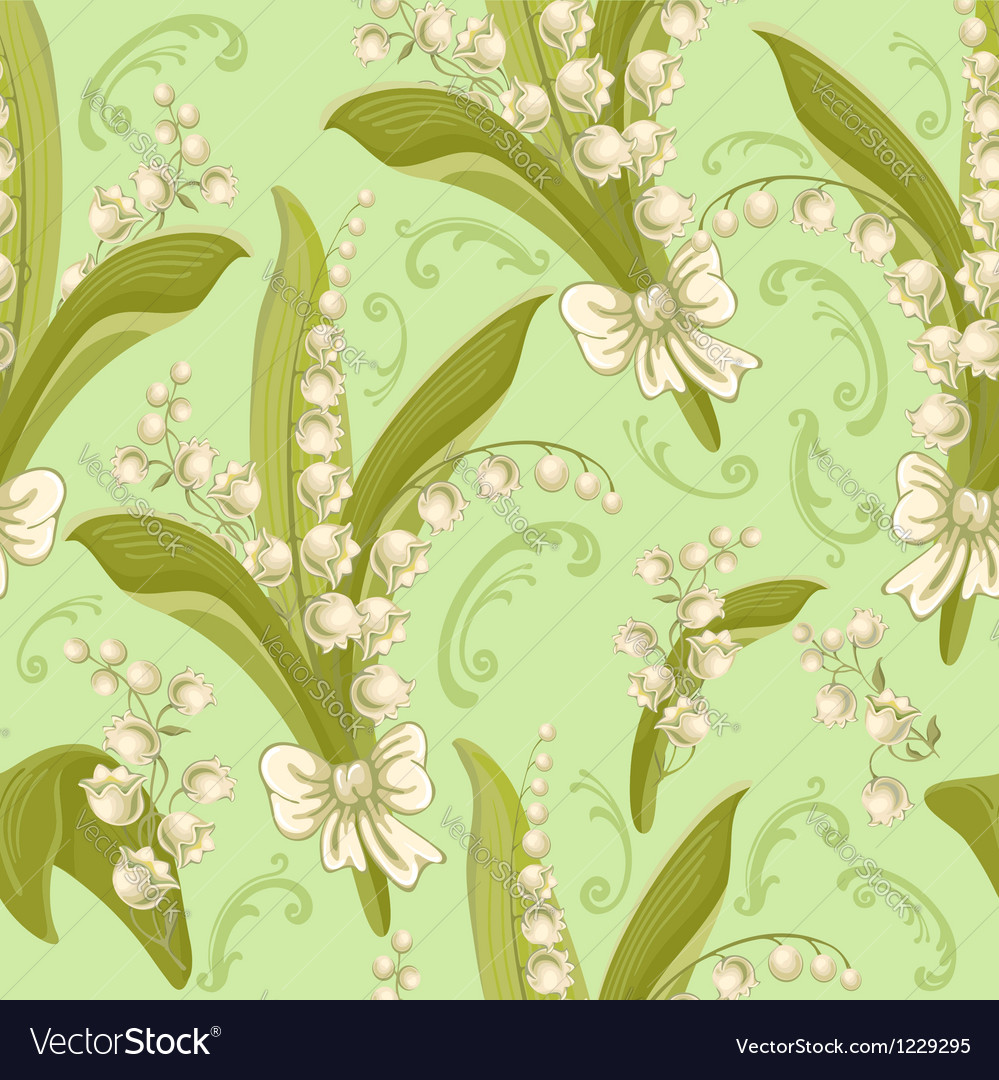 Flowers seamless vector