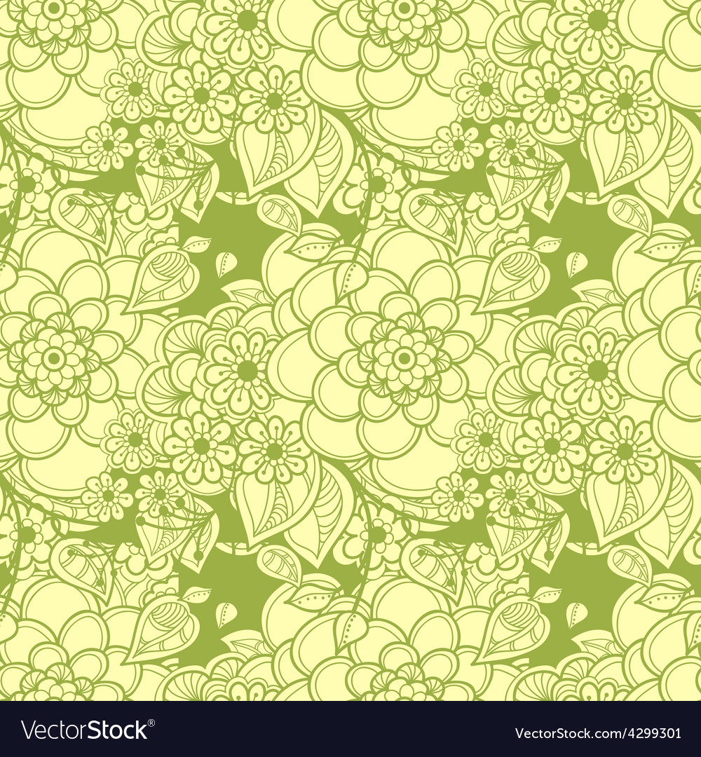 Cork background of flowers leaves and natural vector