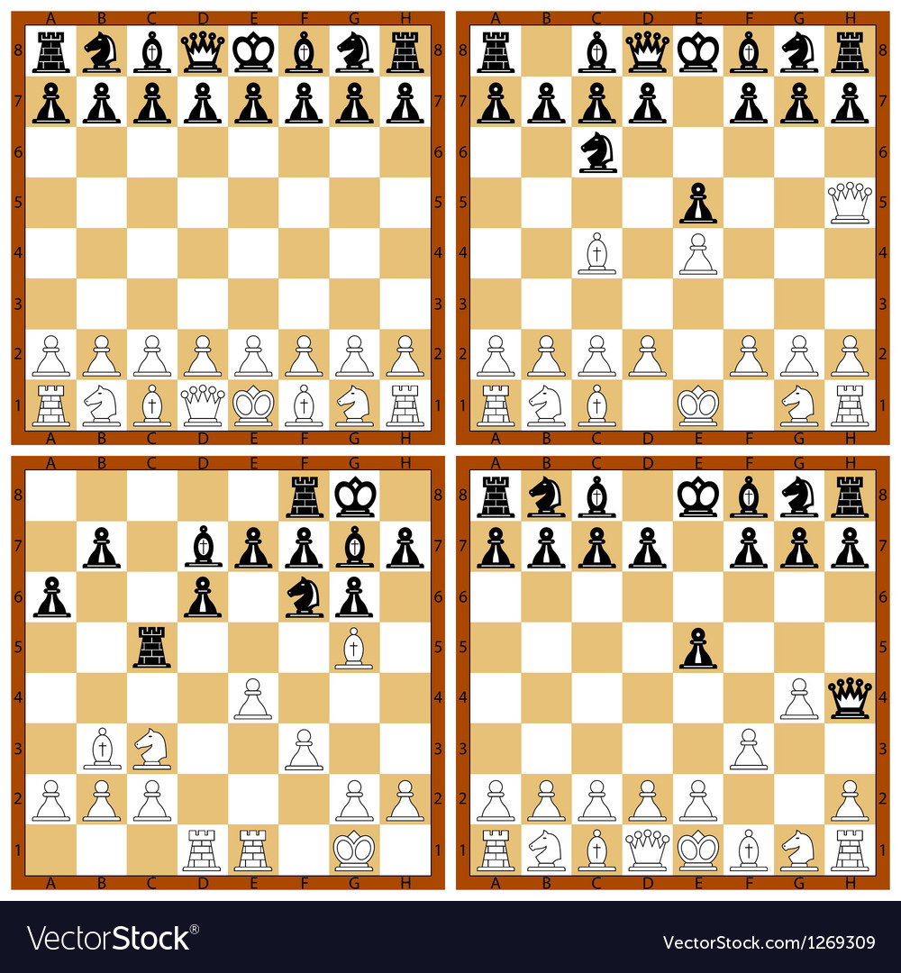 Chess position set vector
