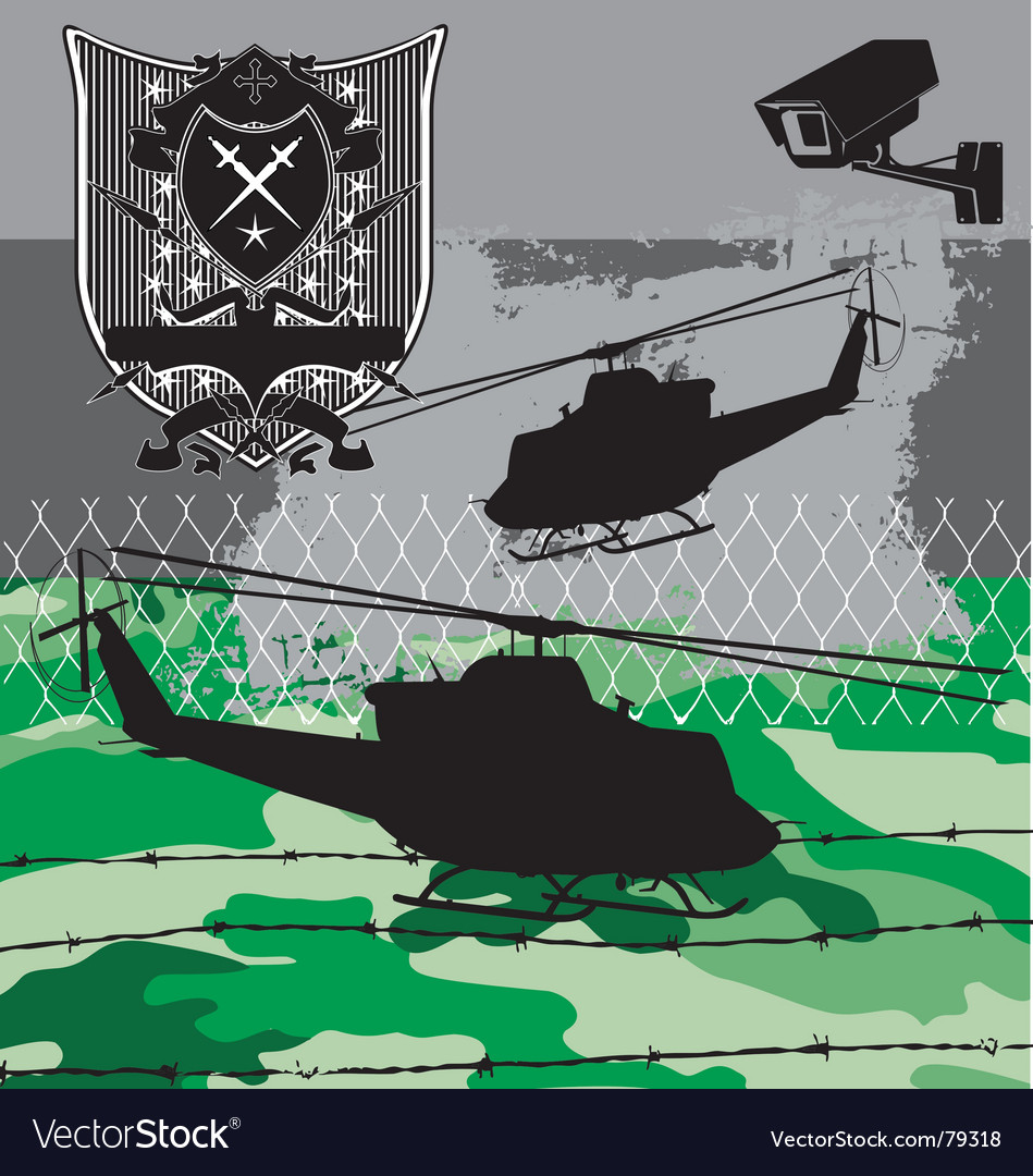 Armed forces vector