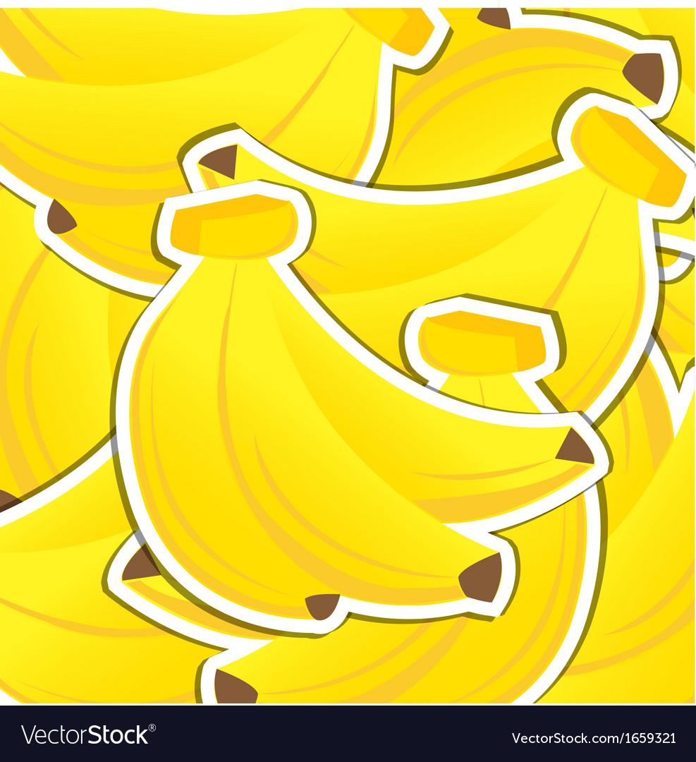 Fruit background vector