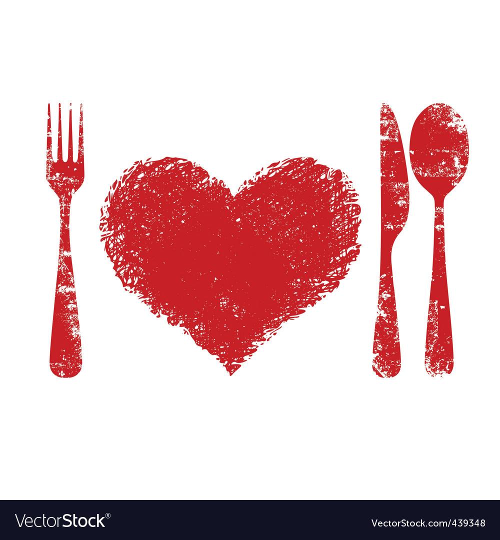 Heart health concept vector