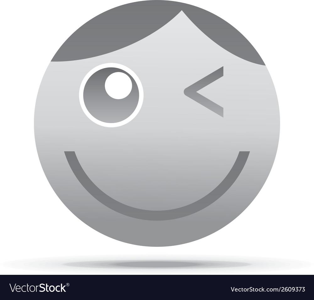Emoticon design vector