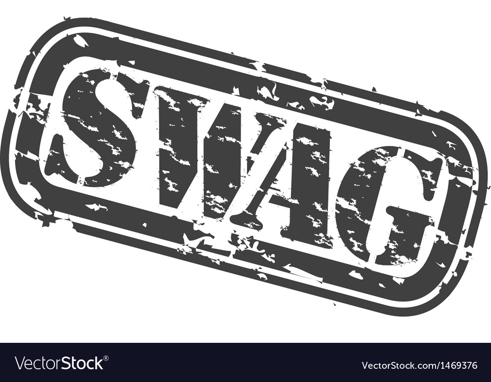 Swag stamp vector