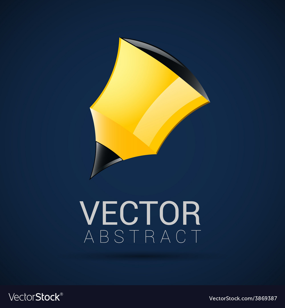 Pencil icon geometric design in vector