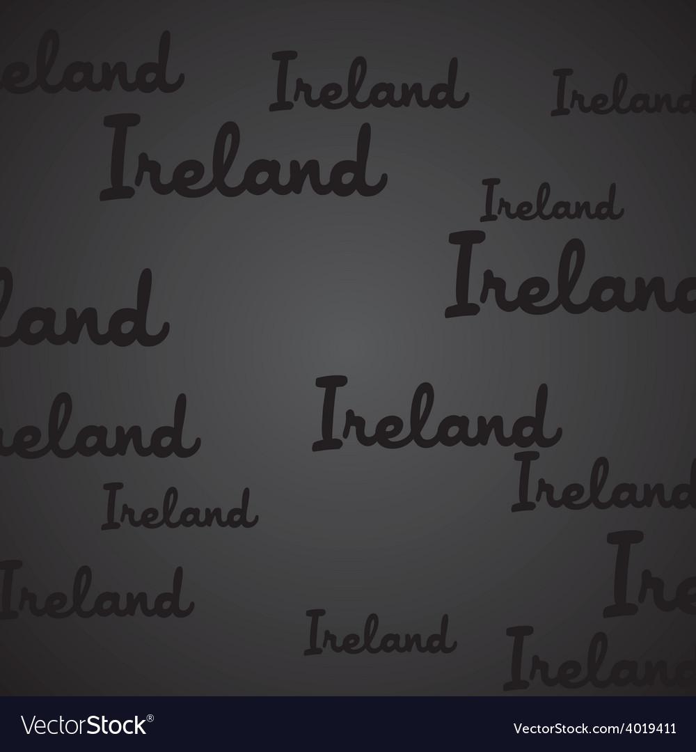 Ireland pattern vector