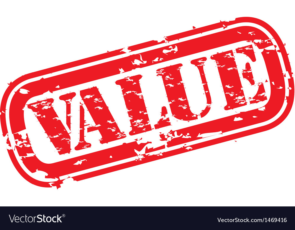 Value stamp vector