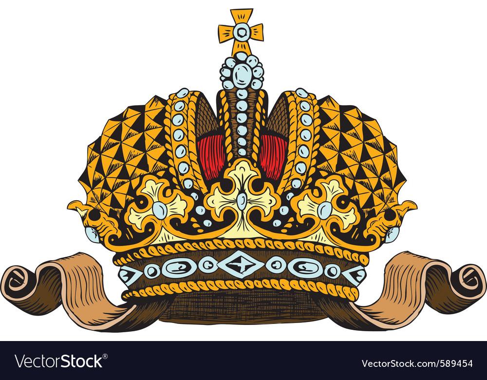 Monarhy tiara vector
