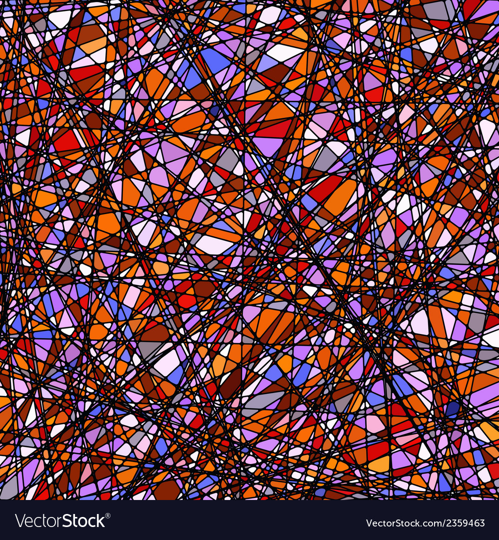 Stained glass texture in a purple tone eps 8 vector