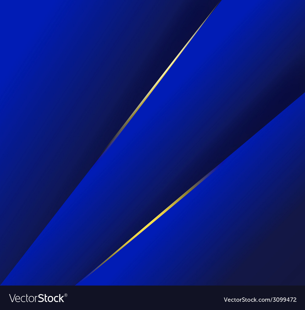 Abstract background with dark blue layers and vector