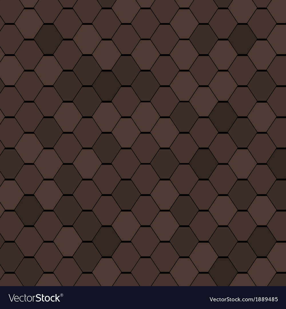 Clay roof tiles seamless texture vector