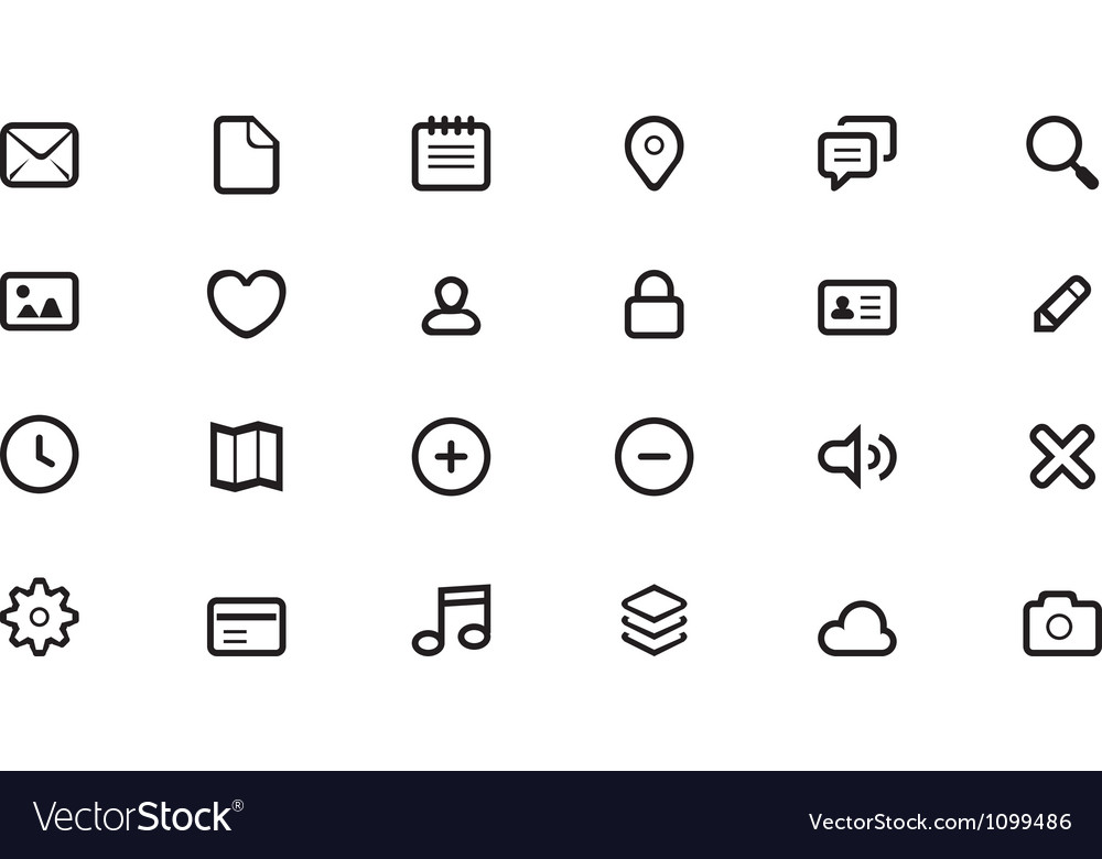 Icon for web design vector