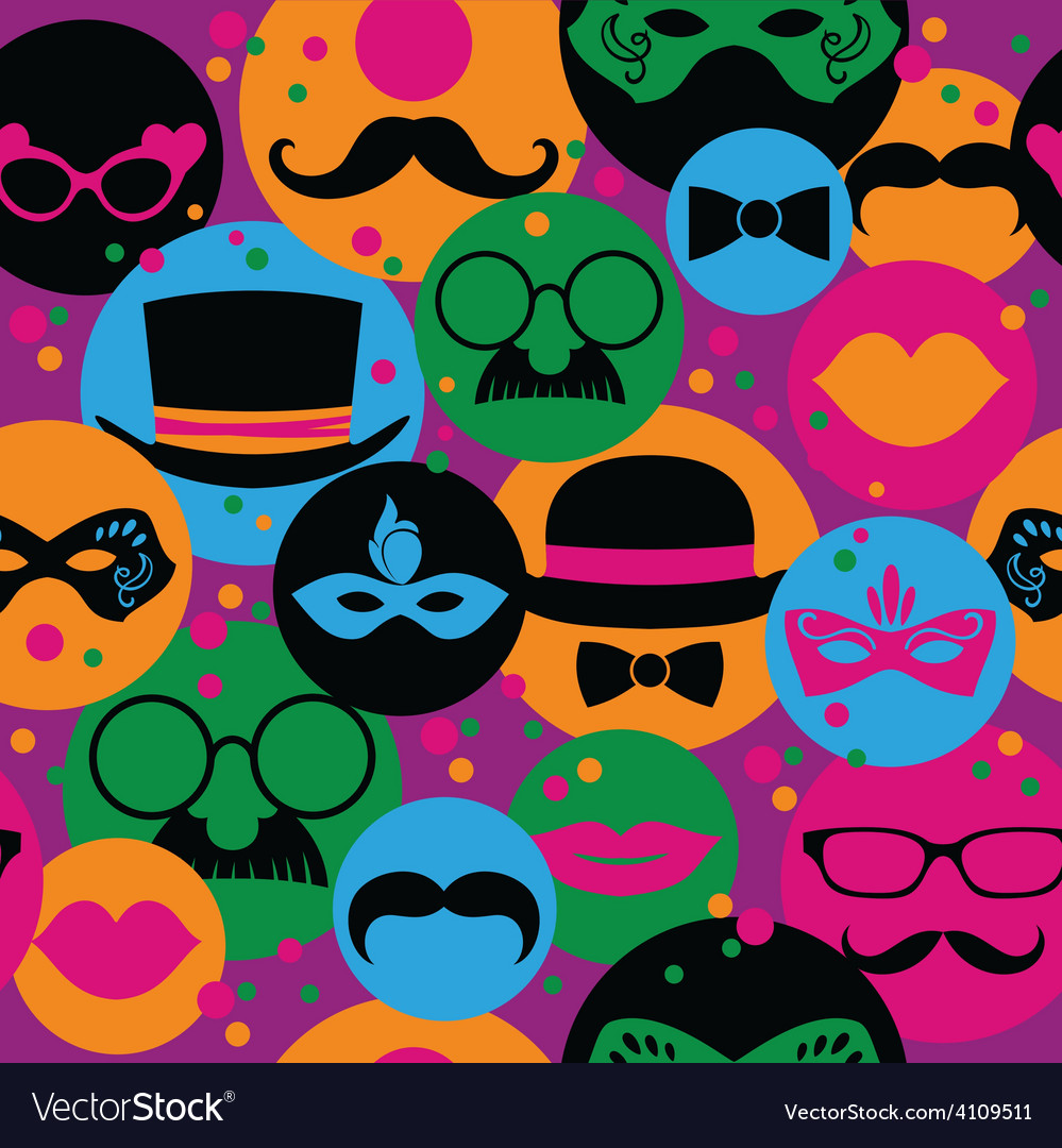 Celebration festive seamless background with vector