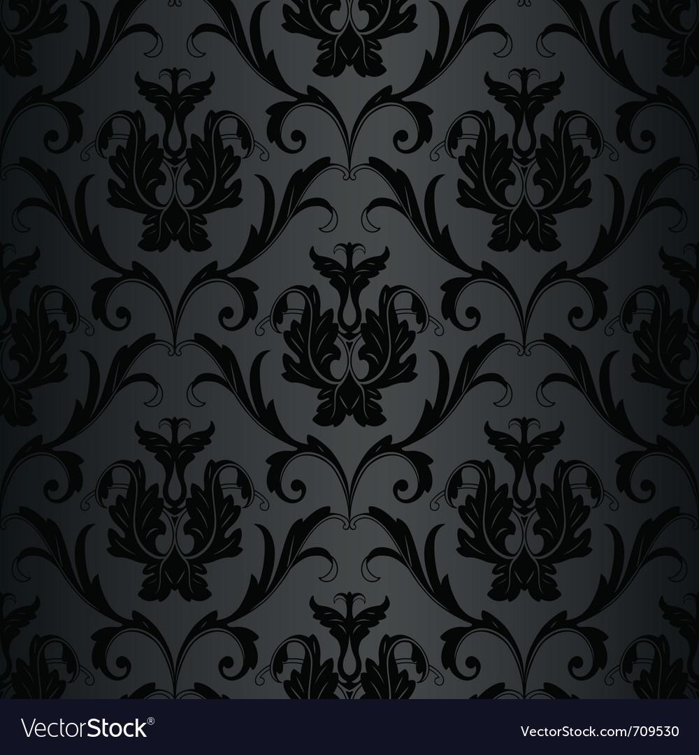 Black wallpaper pattern vector